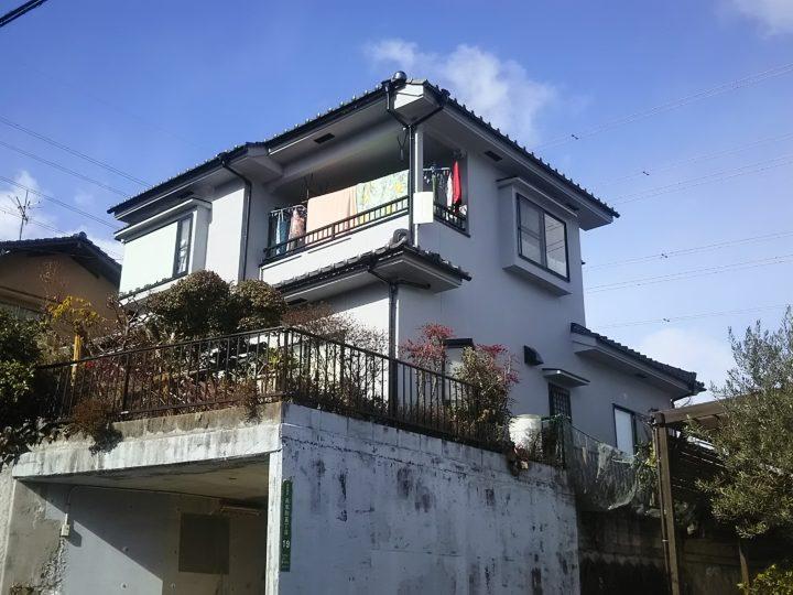 広島市安佐南区 S様邸 外壁塗装・屋根修繕工事