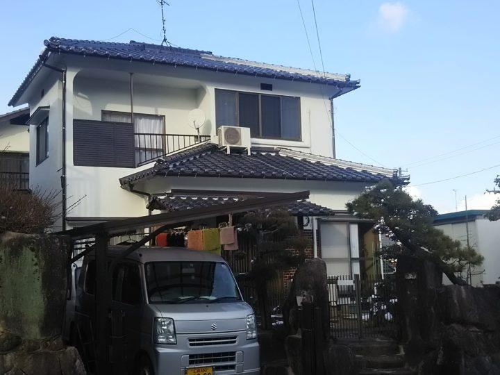 広島市安佐南区 K様邸 外壁塗装・屋根葺替え工事