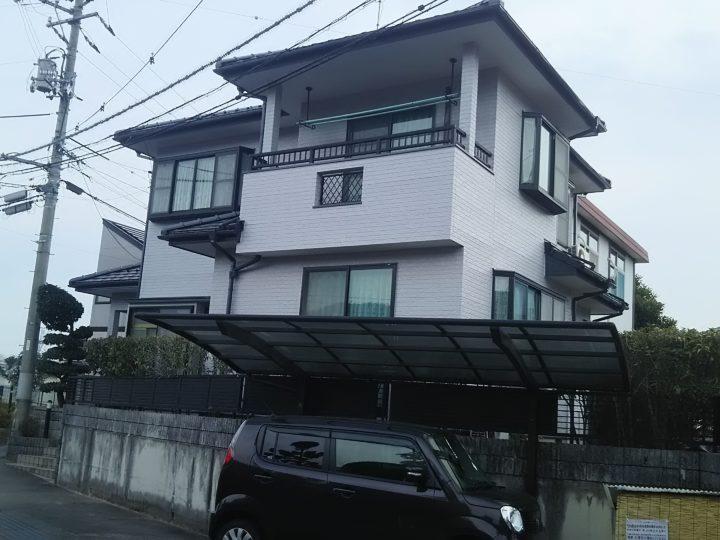 広島市安佐南区 N様邸 外壁塗装・屋根葺き替え工事