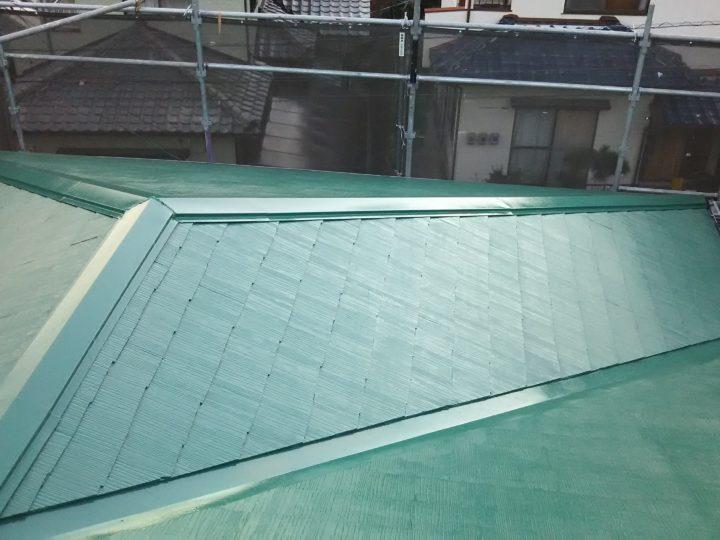 広島市安佐南区 M様邸 屋根塗装工事