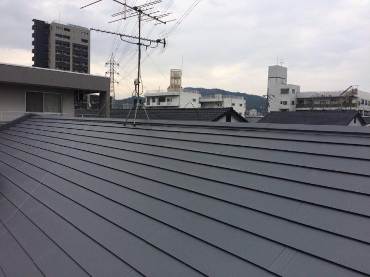 広島市安佐南区 Vアパート 屋根葺き替え工事