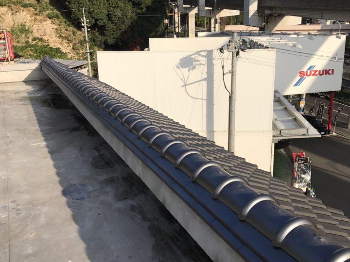 広島市安佐南区屋根瓦棟積み替え工事