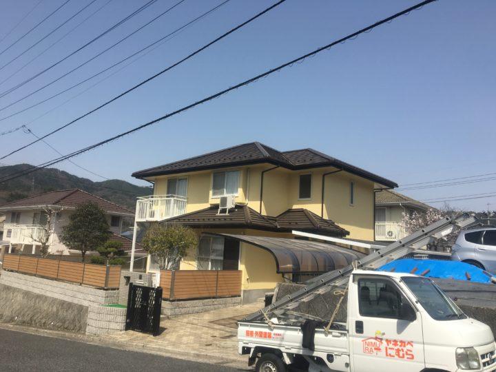 広島市安佐北区O様邸屋根瓦葺き替え工事