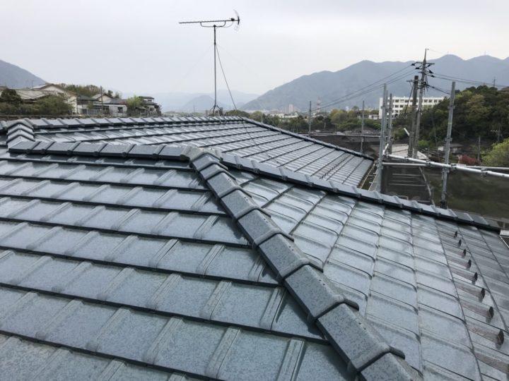 広島市安佐北区 T様邸 屋根瓦葺き替え工事