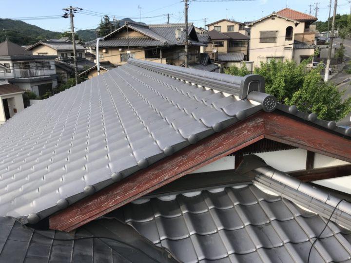 広島市安佐南区 Y様邸屋根葺き替え工事