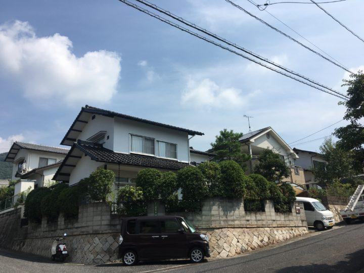 広島市安佐南区 B様邸 屋根瓦葺き替え工事