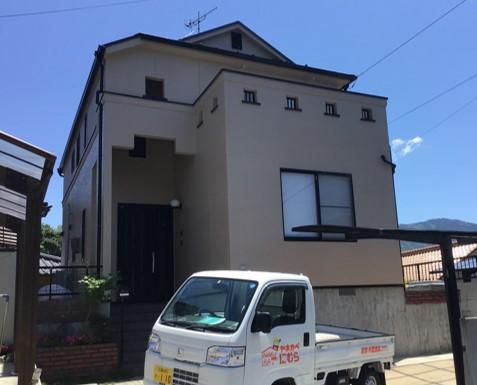 広島市安佐南区A様邸 外壁塗装工事