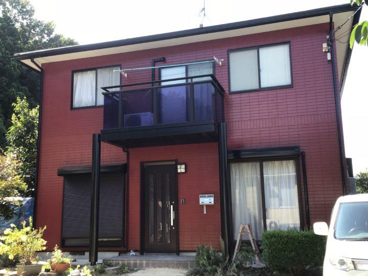 広島市安佐南区 H様邸 屋根外壁塗装工事