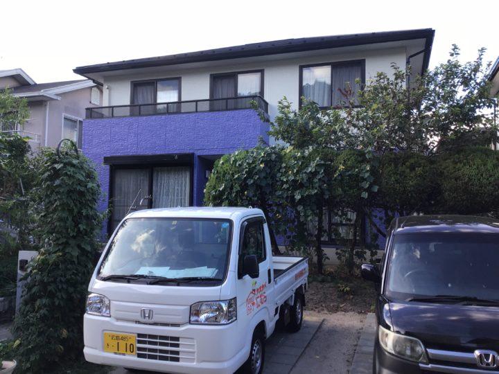 広島市安佐北区 M様邸 外壁塗装・屋根葺き替え工事