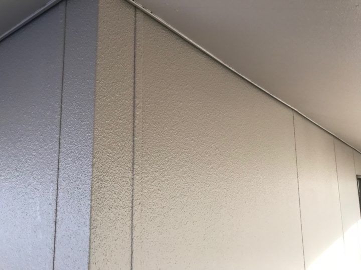 広島市安佐北区 K様邸 外壁塗装工事状況