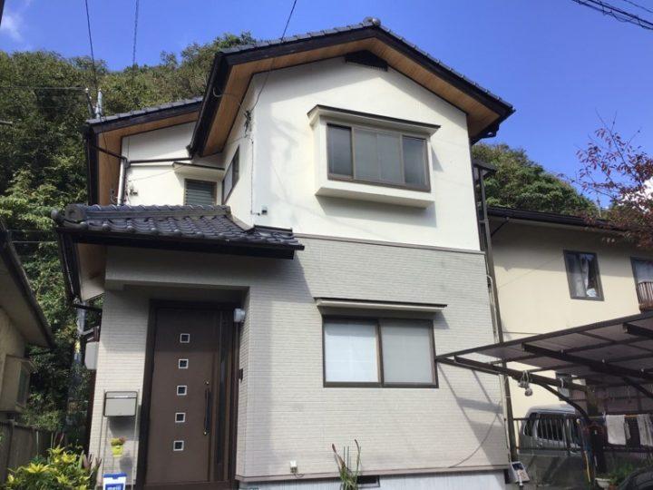 広島市安佐北区 S様邸 外壁塗装・サイディング追い張り工事