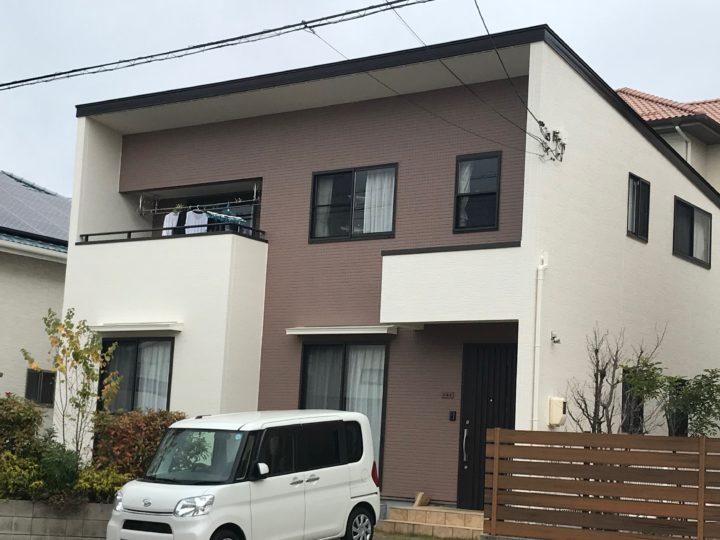 広島市安佐南区 S様邸外壁塗装工事
