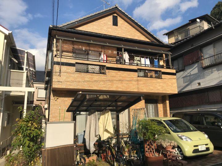 広島市東区 K様邸外壁塗装工事