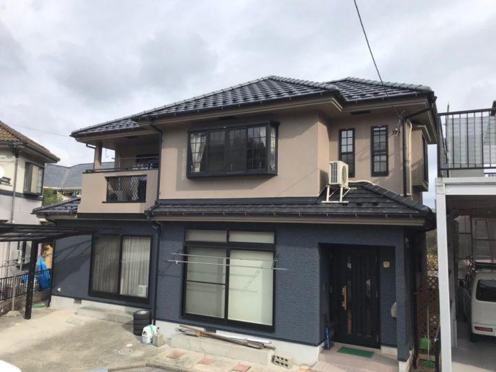 広島市安佐南区 T様邸外壁塗装工事