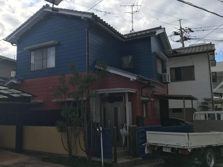 広島市西区 A様邸外壁塗装工事
