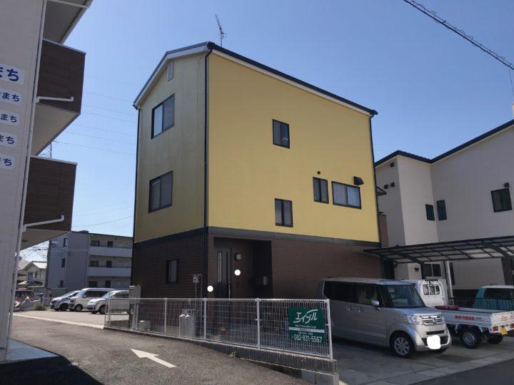 広島市安佐南区 M様邸屋根外壁塗装工事