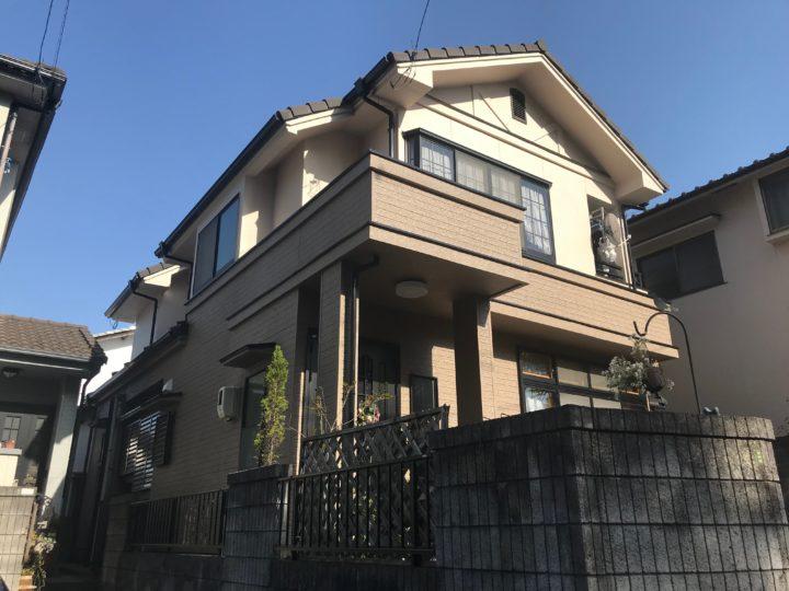 広島市安佐南区F様邸外壁塗装工事