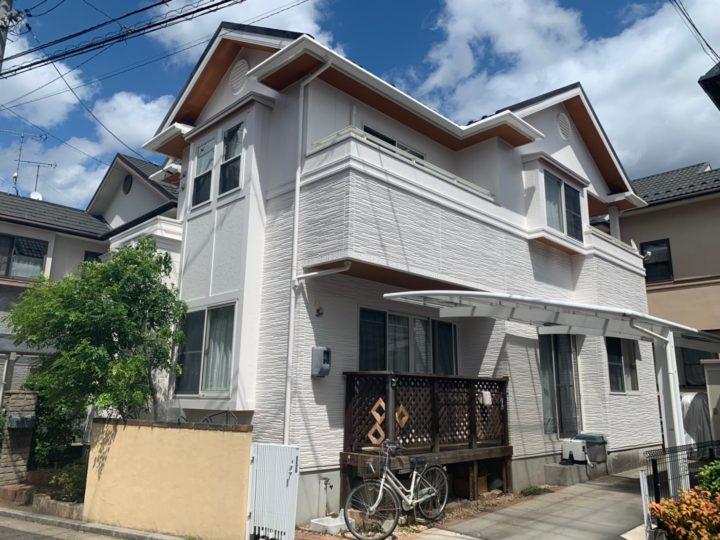 広島市安佐南区 C様邸外壁塗装工事