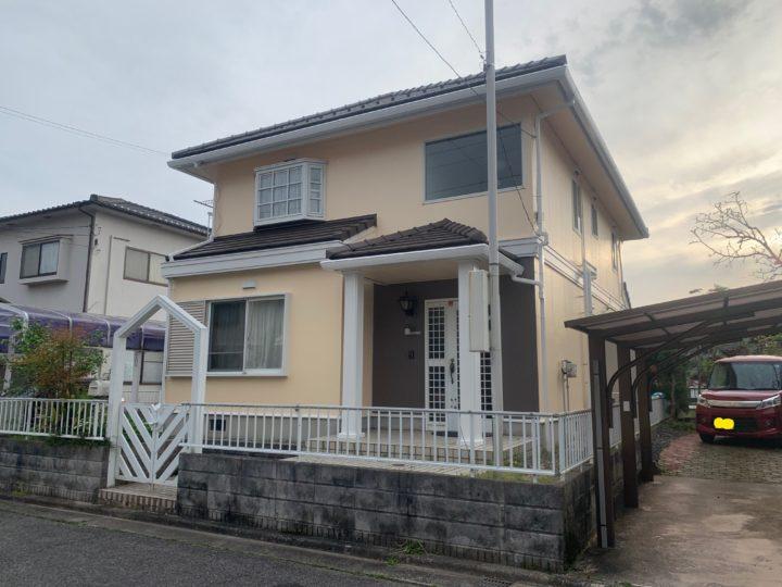 広島市安佐北区 H様邸外壁塗装工事