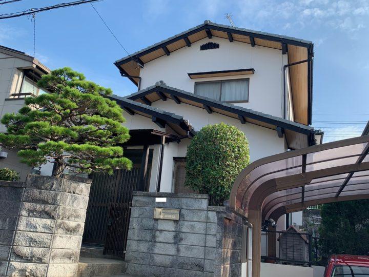 広島市安佐南区 M様邸外壁塗装工事