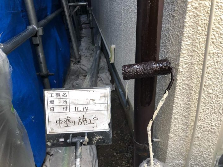 付帯部/雨樋 塗装
