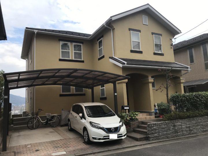 広島市安佐南区 K様邸外壁塗装工事