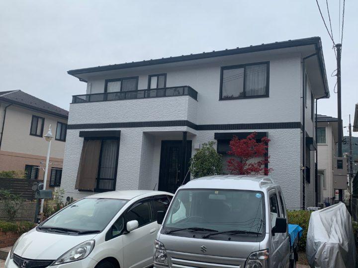広島市安佐北区 S様邸外壁塗装工事