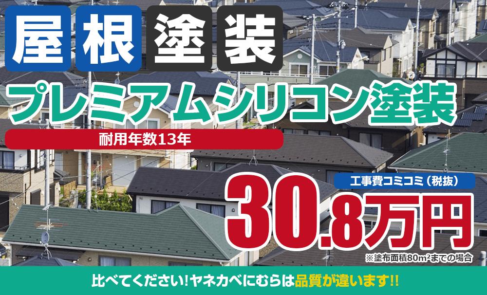 プレミアムシリコン塗装塗装 30.8万円