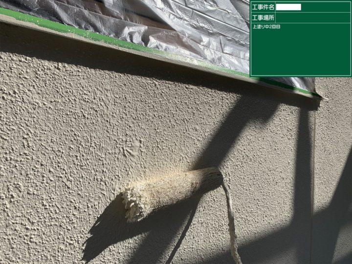 外壁/上塗り