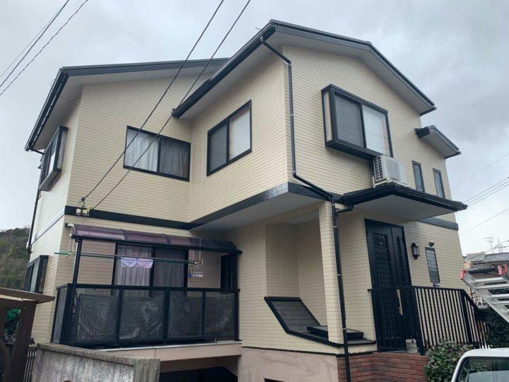 広島市東区 Y様邸外壁塗装工事