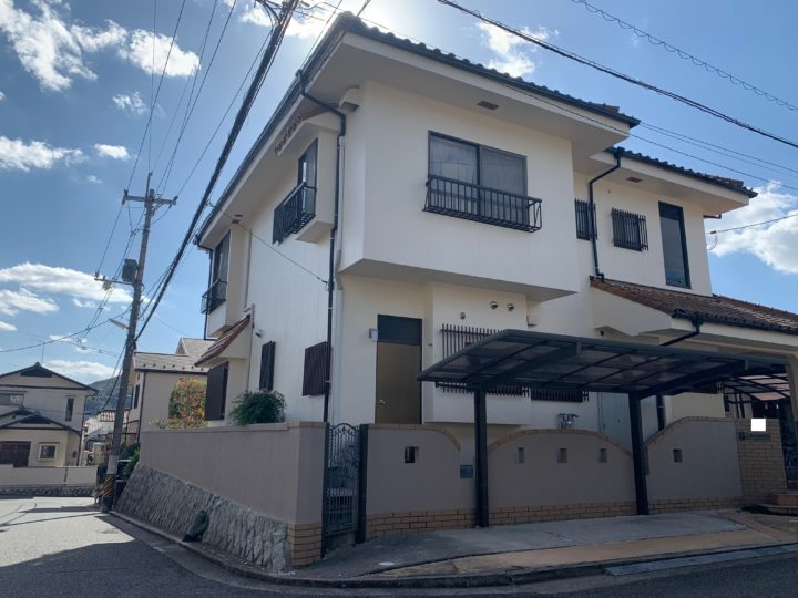 広島市安佐南区 G様邸外壁塗装工事