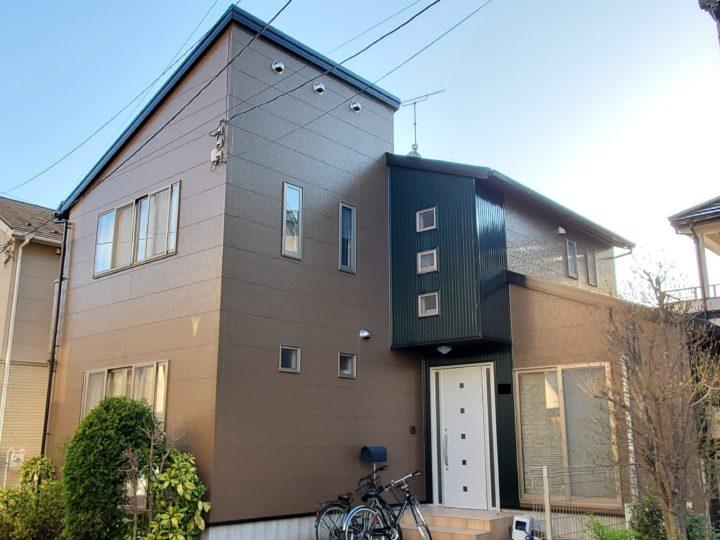 広島市安佐南区 H様邸外壁塗装工事