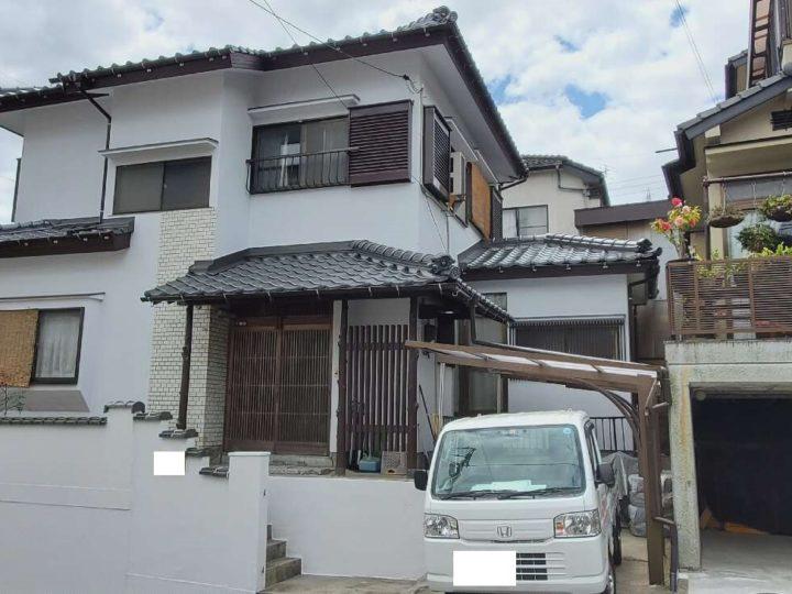 広島市西区 M様邸外壁塗装工事