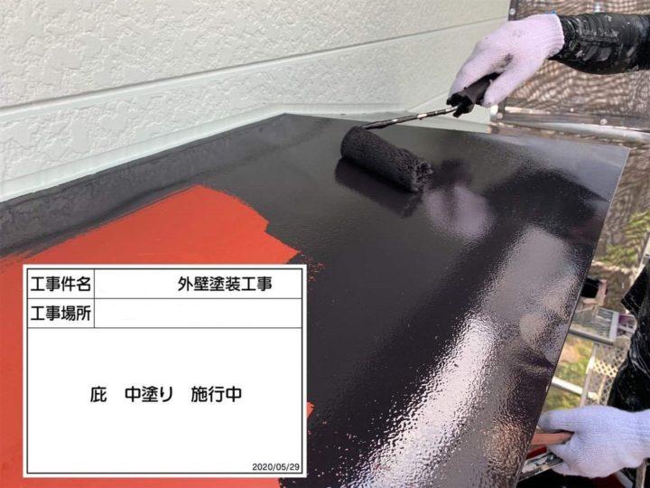 付帯部(鉄部)/ペンキ塗布1回目