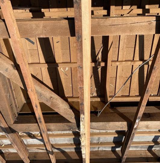 垂木の補修
