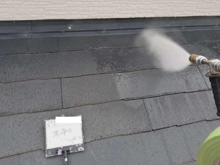 高圧洗浄工事/屋根