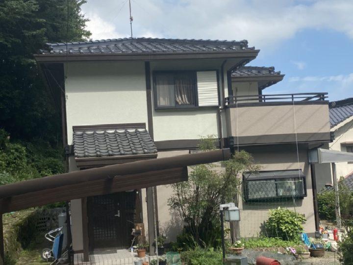 広島市安佐南区 K様邸外壁塗装・ベランダ防水工事