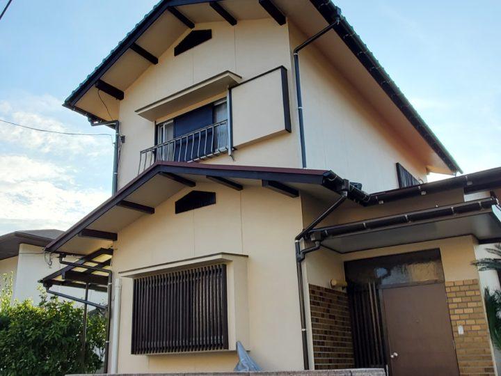 広島市安佐北区 Y様邸外壁塗装工事