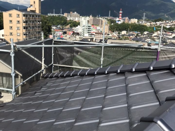 広島市安佐南区S様邸 屋根瓦葺き替え工事