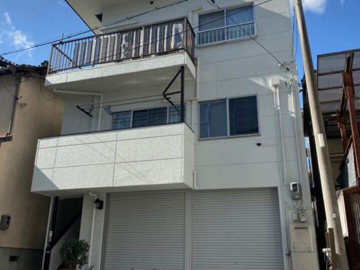 広島市東区 O様邸 外壁・屋根塗装工事