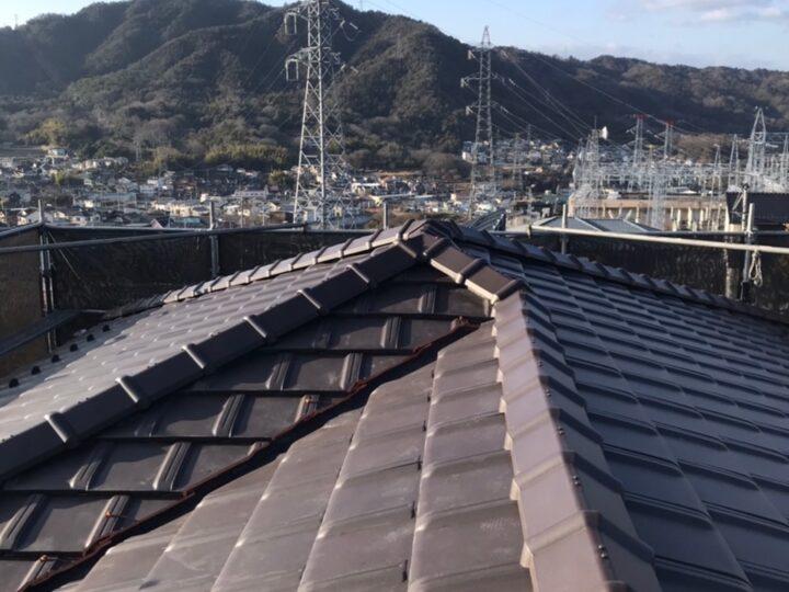 広島市安佐北区 M様邸 屋根葺き替え工事