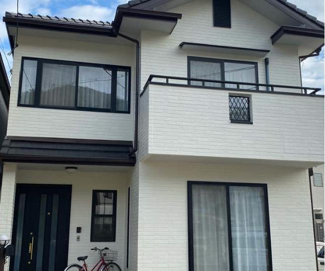 広島市安佐南区 K様邸外装塗装工事