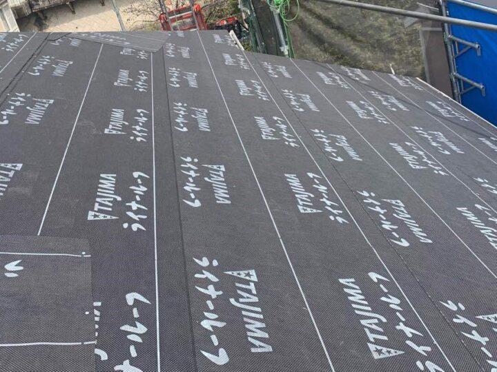 屋根下葺き材ゴムアスルーフィング