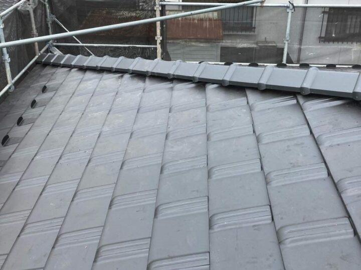 屋根葺き替え工事完了!!