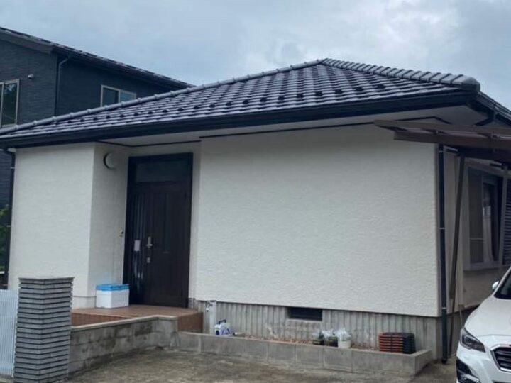 広島市安佐北区 S様邸外装修繕塗装工事
