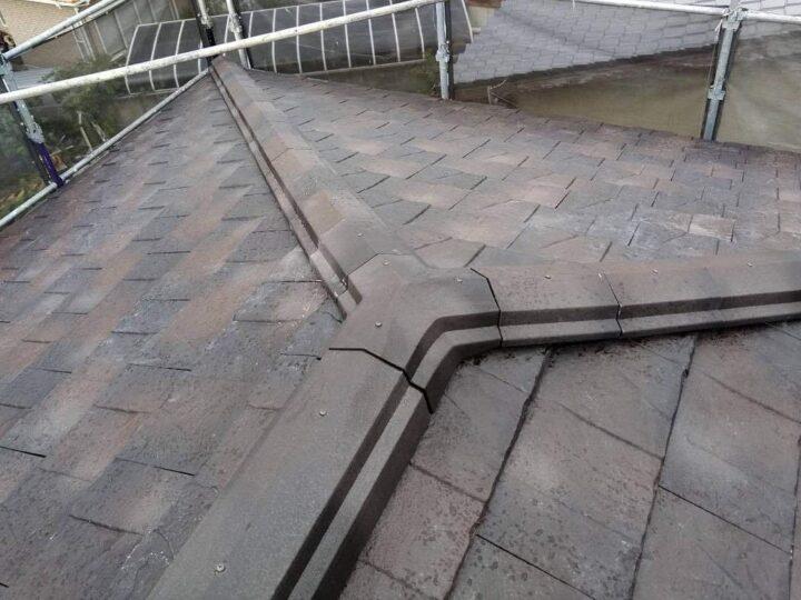 屋根工事完了!!